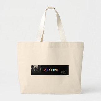 a3 STORE HEADER Jumbo Tote Bag