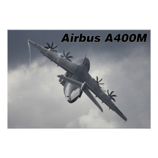 A400M in action Poster