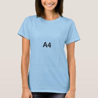 A4 Size T-Shirt