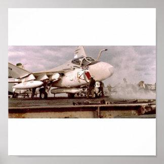 A6 INTRUDER VA-115 POSTER