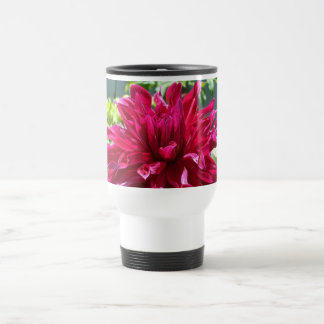 a6 Raspberry Spider Dahlia Travel Mug