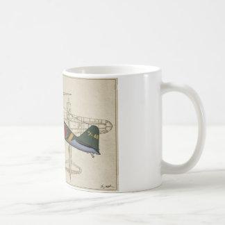A6M2 zero fighter, Coffee Mug