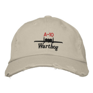 A-10 Attack Golf Hat Embroidered Baseball Cap