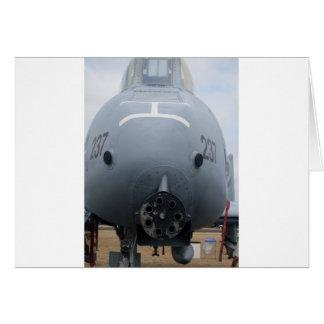 A-10 Gau-8 Greeting Card