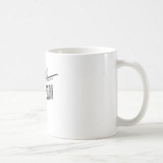 A-10 Low N Slow Classic White Coffee Mug