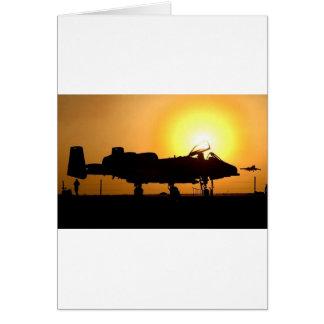 A-10 SUNRISE GREETING CARD