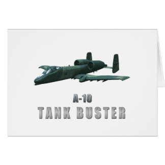 A-10 Tankbuster Greeting Card