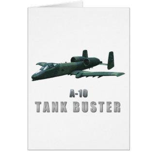 A-10 Tankbuster Card