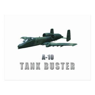 A-10 Tankbuster Postcard