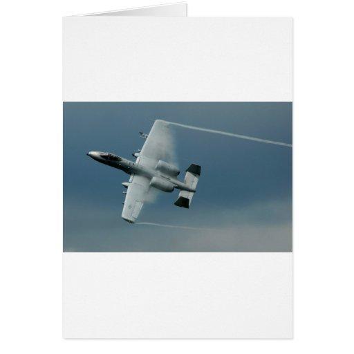 A-10 Thunderbolt Card
