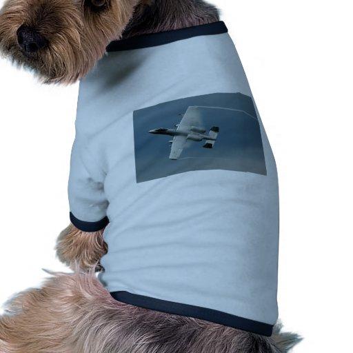 A-10 Thunderbolt Dog Tshirt