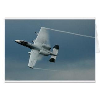 A-10 Thunderbolt Greeting Card
