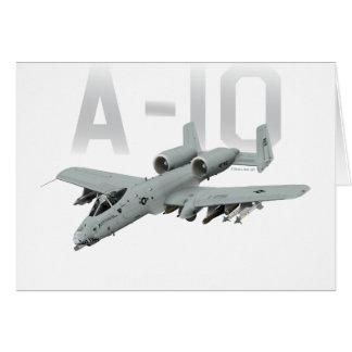 A-10 Thunderbolt II Card