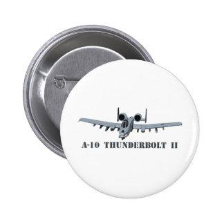 A-10 Thunderbolt II Pinback Button