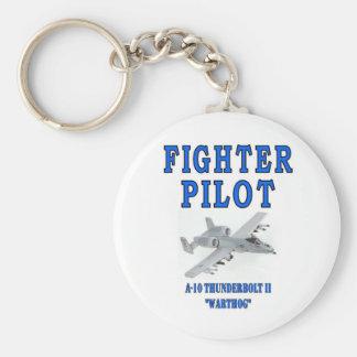 A-10 THUNDERBOLT II warthog Basic Round Button Keychain