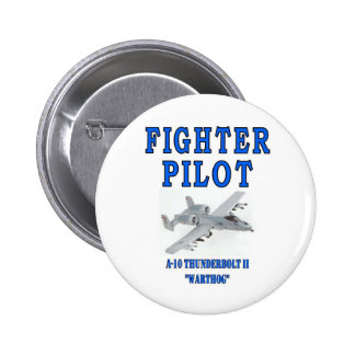 A-10 THUNDERBOLT II warthog Pinback Button
