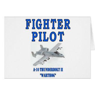 A-10 THUNDERBOLT II warthog Greeting Card