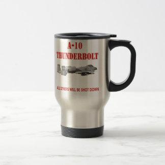 A-10 THUNDERBOLT travel mug