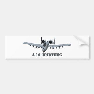 A-10 Warthog Bumper Sticker