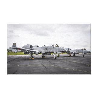 A-10 Warthog Gallery Wrap Canvas