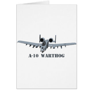 A-10 Warthog Card