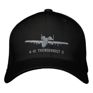 A-10 Warthog Embroidered Hat