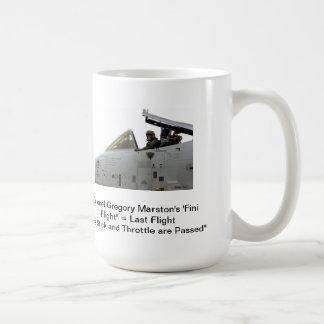 A-10 Warthog Humor Rule #4 Basic White Mug