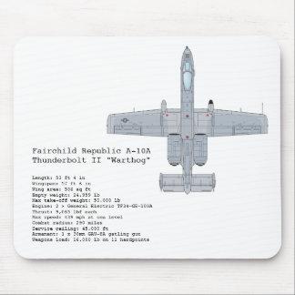 A-10 Warthog mousepad