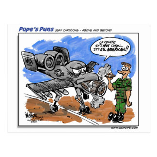 A-10 Warthog Postcard