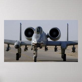 A-10 Warthog Print
