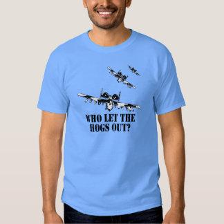 A-10 Warthog Tee Shirt
