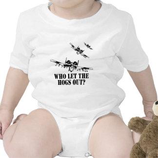 A-10 Warthog Bodysuits