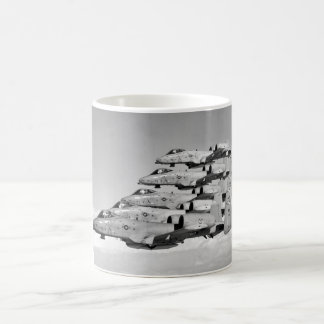 A-10 Warthogs Flying In Formation Classic White Coffee Mug