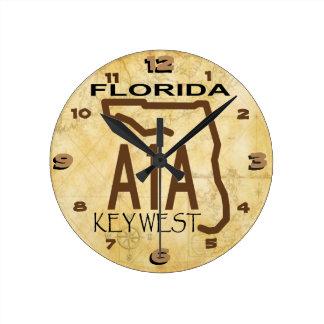 A-1-A Key West Clock