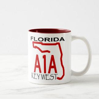 A-1-A Key West Two-Tone Coffee Mug