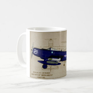 A-1 Skyraider  coffee mug