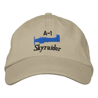 A-1 Skyraider (Light Color Only) Embroidered Hat