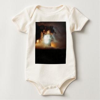 A-1 Test Stand Night Firing Baby Bodysuit
