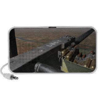A 50 caliber machine gun mp3 speakers