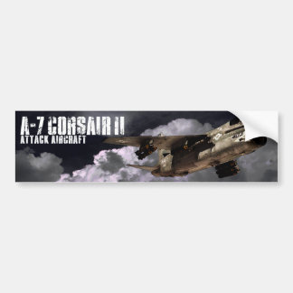 A-7 Corsair II Bumper Sticker