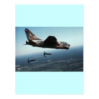 A-7 Dropping Supllies Postcard