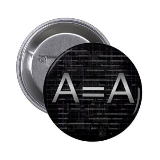 A=A Logic Objectivist Tech Button