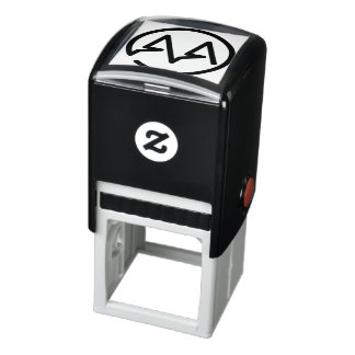 A & A Monogram Self-inking Stamp