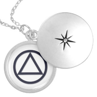 A.A. Symbol Necklace