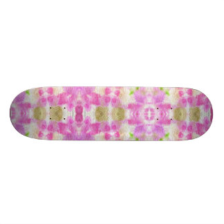 A abstract pink paper grunge watercolor Pattern. Skate Board Decks
