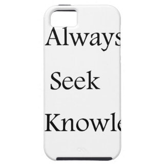 a always s seek k knowledge iPhone 5 case