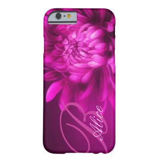 """""""a appelé"""" le chrysanthème caisse mauve de l'iPhon Coque Barely There iPhone 6"""