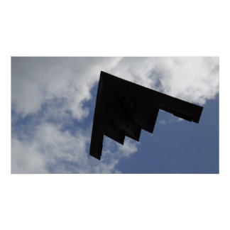 A B-2 Spirit in flight Poster