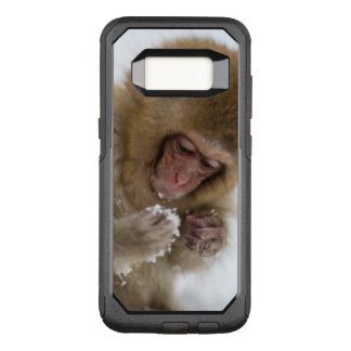 A baby Japanese Macaque (or snow monkey) OtterBox Commuter Samsung Galaxy S8 Case