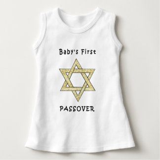A Baby's First Passover Dress